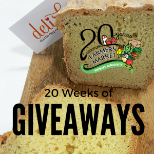 Delish Gluten Free 20 Weeks Giveaway