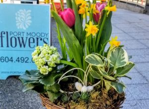Mothers Day Planters with Port Moody Flowers