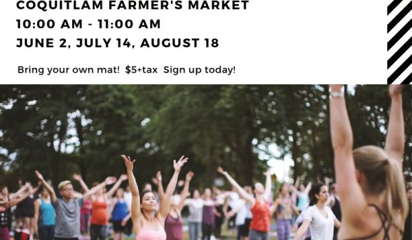 Yoga at the Market
