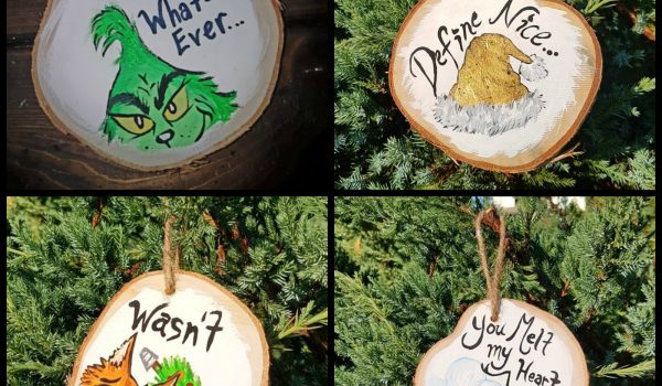 Wooden Ornament Painting
