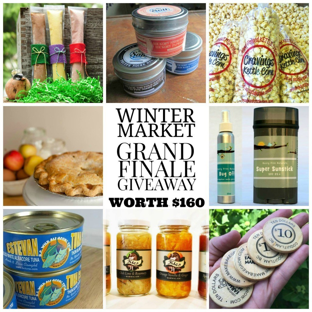 winter market grand finale giveaway