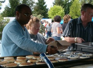 Annual Blueberry Pancake Breakfast