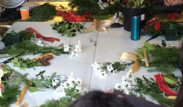 Coquitlam Christmas Farmers Market – Winter Floral Arranging with Port Moody Flowers