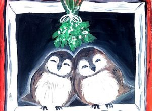 Paint the Barn Owls – Christmas Market Workshop